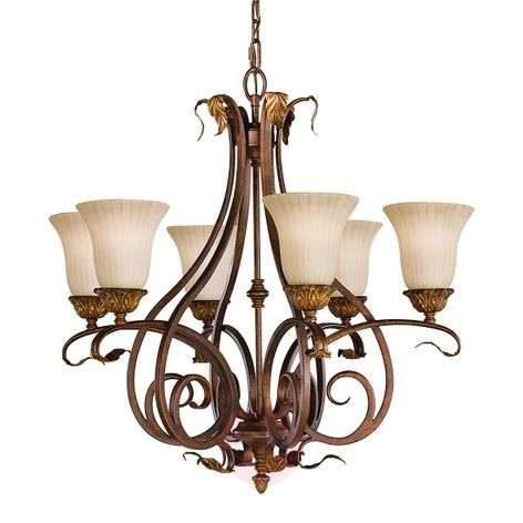 Impressive chandelier Sonoma Valley