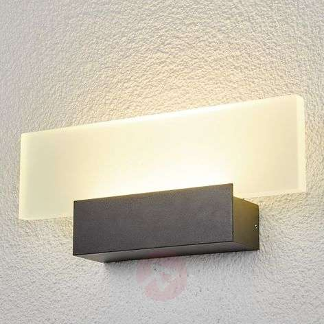 Impressive LED outdoor wall light Rieke
