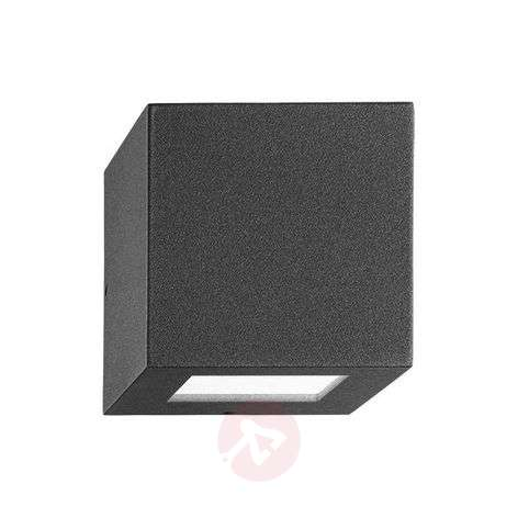 Impressive outdoor wall lamp 7002, 1NB+1W