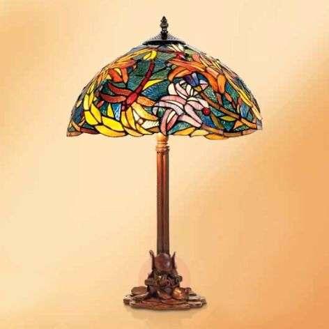 Impressive table lamp Miley, Tiffany style