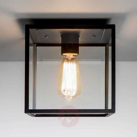 In the popularvintage style - Box ceiling light