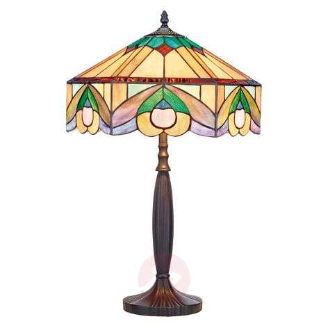 In the Tiffany style - table lamp Iwona