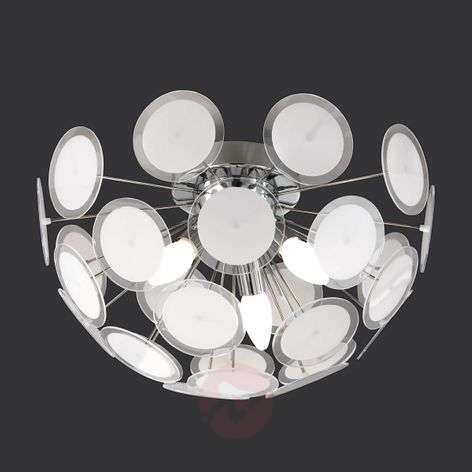 Individual ceiling light Circle, white/chrome-9004280-31