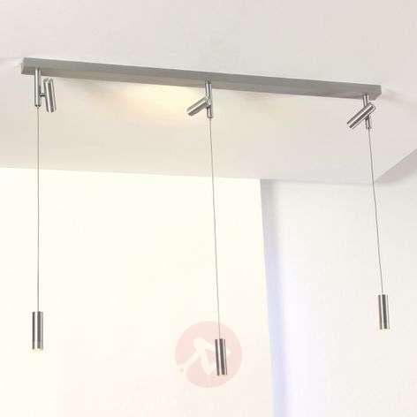 Individually adjustable LED pendant lamp Stage