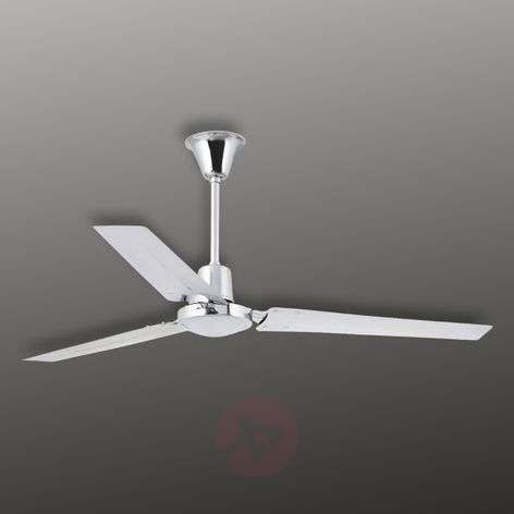 Fans lights indus modern ceiling fan chrome aloadofball Images