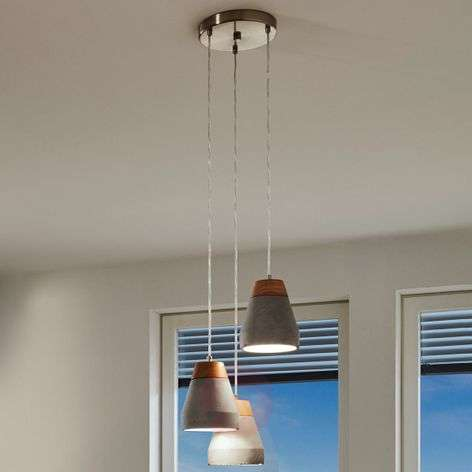 Industrial-looking Tarega pendant light