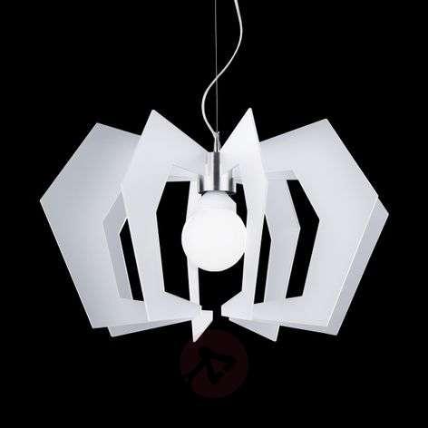 Innovative designer hanging light Spider, white-1056001-31