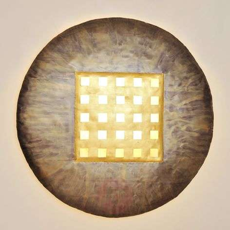 Innovative wall lamp Disque Extra Large Bronze