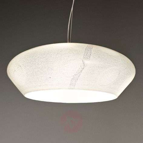 Interesting hanging light Marble