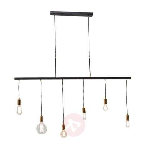 Interesting hanging light Pole Six