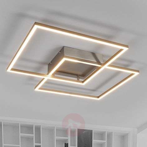Interestingly designed Mirac LED ceiling lamp