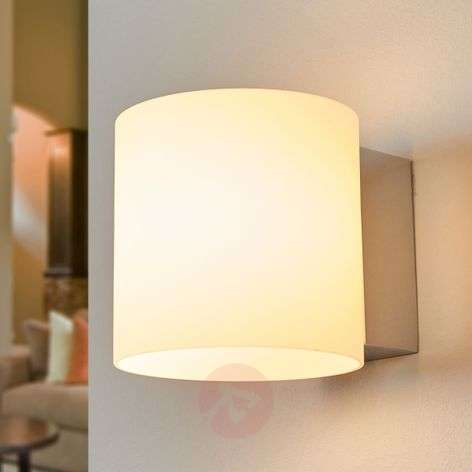 IP44 LED glass wall lamp Kleantis for the bathroom