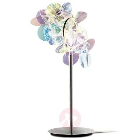 Iridescent MILLE BOLLE table lamp