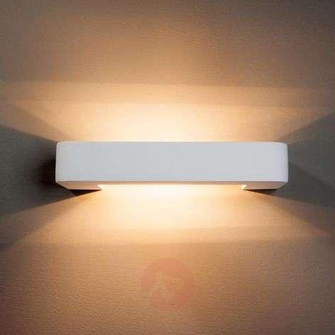 Isra Halogen Wall Light U-Shaped Plaster