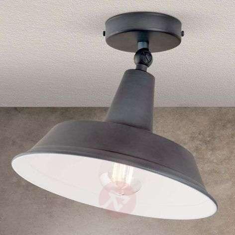 Istari ceiling light in a vintage look, grey