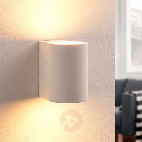 Jannes - LED wall light made of plaster