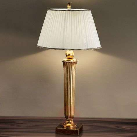 Janni Floor Lamp Charming Warm Gold Tone
