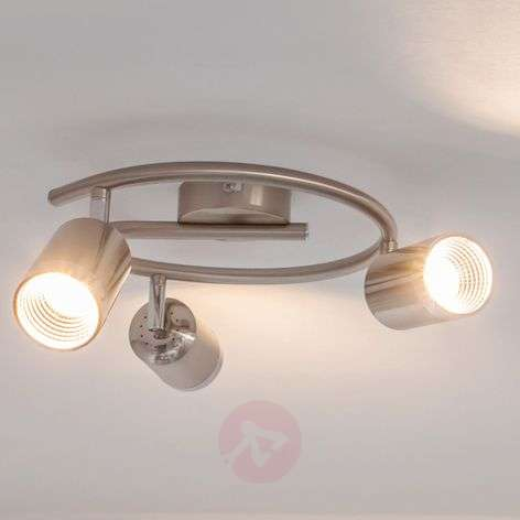Jarne round ceiling spotlight with LEDs