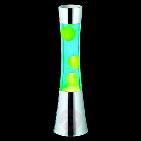 Jarva lava lamp - with green lava