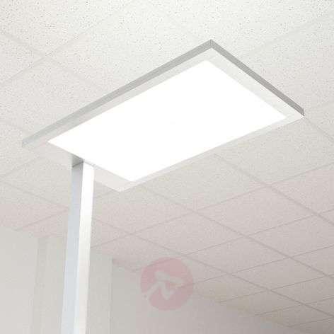 Javier LED office floor lamp, direct-indirect