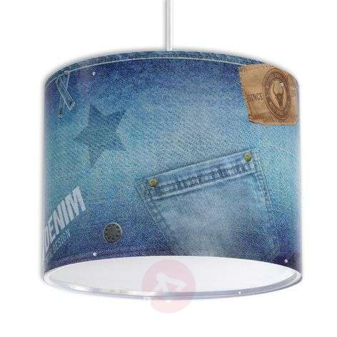Jeans - stylish hanging light for children