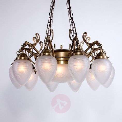 Jerome chandelier, hand-finished