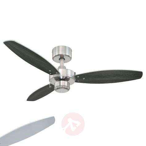 Jet I modern ceiling fan with pull switch