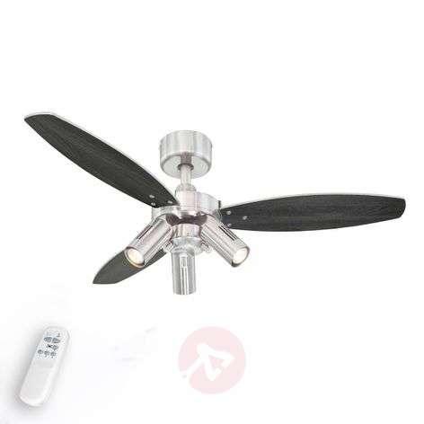 Jet Plus ceiling fan, remote control, three bulbs-9602230-32
