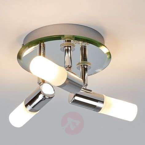 Jilian circular ceiling spotlight for bathrooms