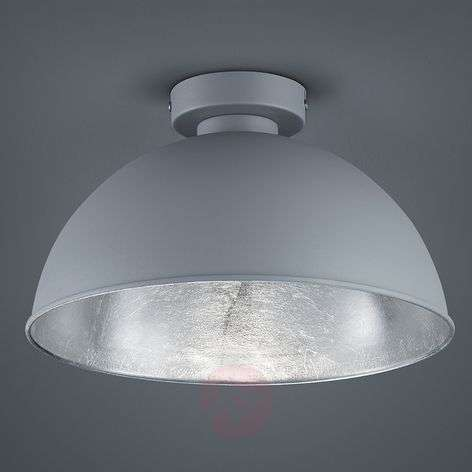 Jimmy metal ceiling light in grey/silver-8029094-31