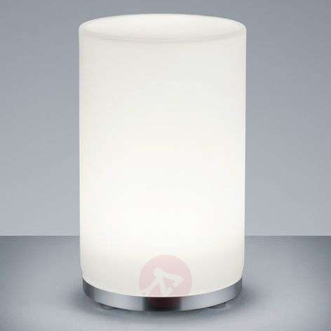 John RGBW LED table lamp with remote control