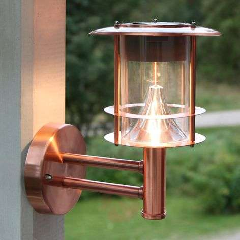 Juno - solar-powered LED wall light