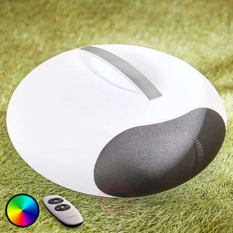 Jupita portable speaker with RGB LEDs