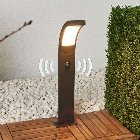 Juvia motion sensor path light with LEDs