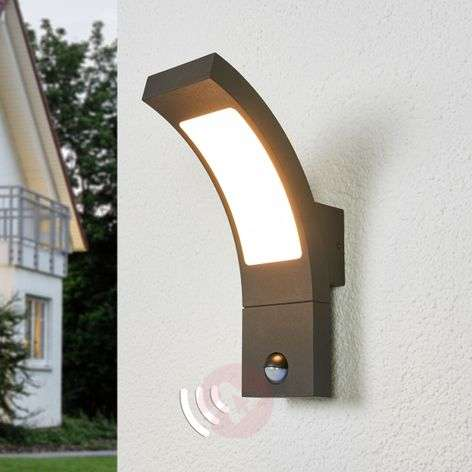 Juvia sensor outdoor wall light with LEDs