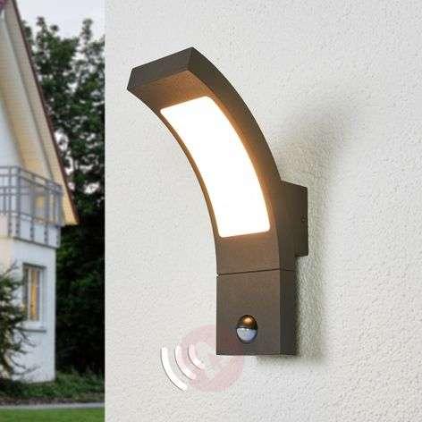 Juvia sensor outdoor wall light with LEDs-9619127-39