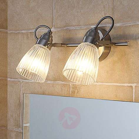 Kara bathroom wall lamp with fluted glass and LED-9620682-311