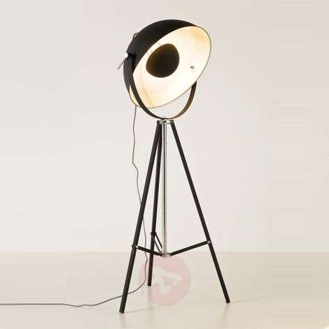 KARE bowl - black floor lamp with indirect light