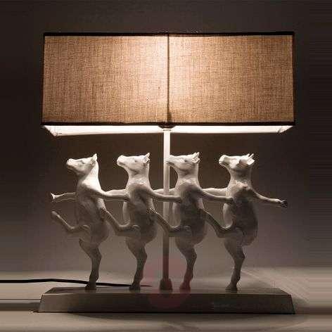 KARE Dancing Cows - funny table lamp