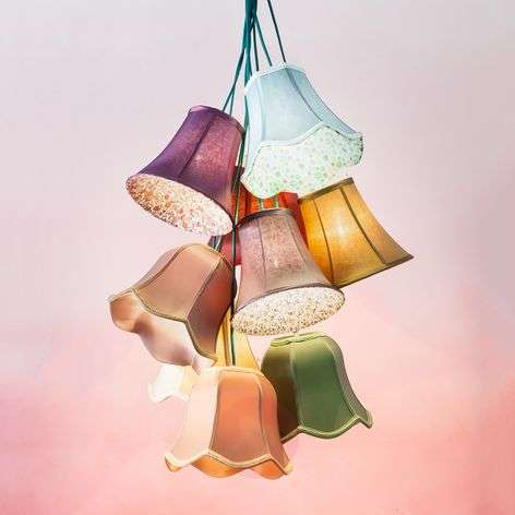 KARE Saloon Flower - colourful hanging light