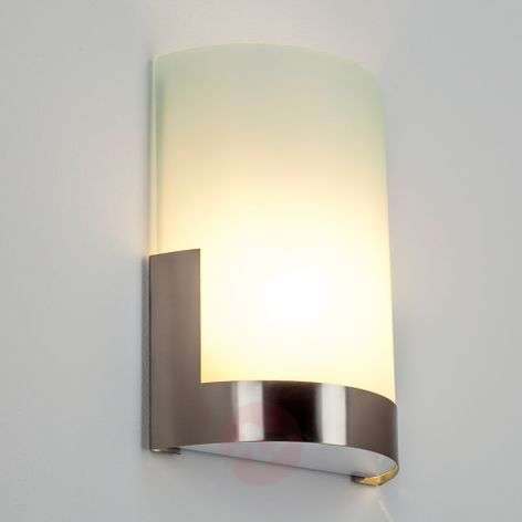 Karla Stylish Wall Lamp with Metal Element