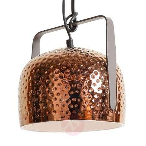 Karman Bag - bronze hanging lamp, 32 cm