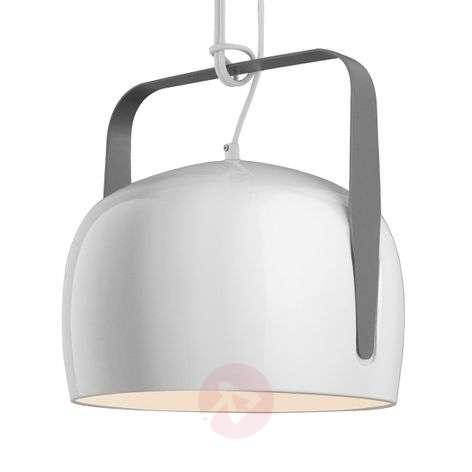 Karman Bag - white hanging light 32 cm, smooth