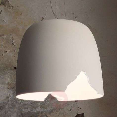 Karman Crash - hanging light made of ceramics