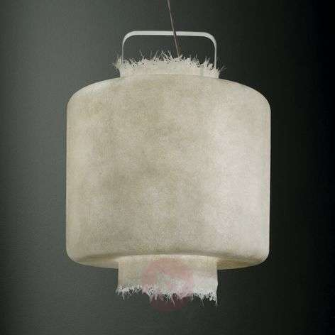 Karman Kimono - white LED hanging light