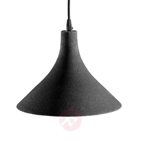 Karman T-Black - designer hanging light, 27.5 cm