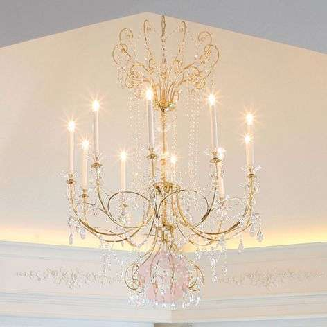 Katharina Chandelier with Lead Crystals 110 cm