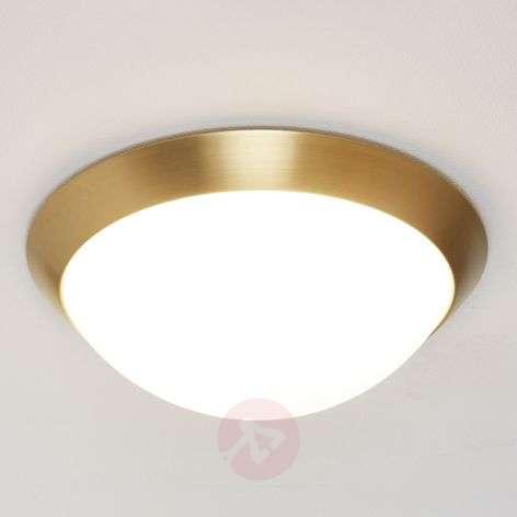 Katrin - Ceiling Light in Brass Look IP44