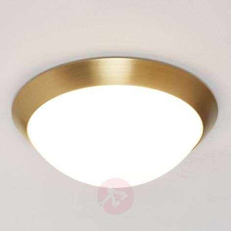 Katrin Ceiling Light in Brass Look IP44-4536103-31