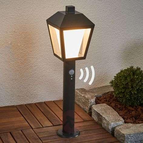 Keralyn motion detector pillar lamp with LED